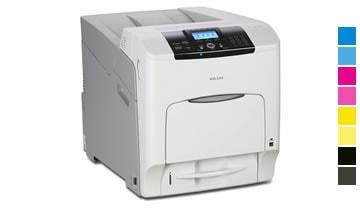 Locação de impressoras aficio sp c430dn Ricoh