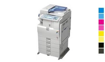 Locação de impressora Ricoh aficio mp c2051