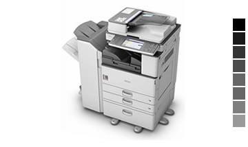 Locação de impressora Ricoh aficio mp 3352sp