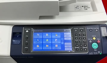 Painel impressora led