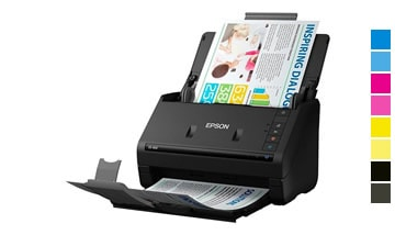 Aluguel de Scanner Epson Workforce ES 400