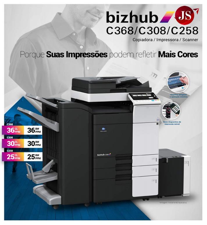 Impressora Bizhub